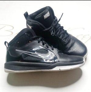 Nike High top Sneakers Black Basketball Shoes